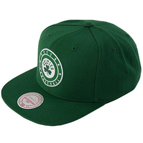 Mitchell & Ness Gorra Patch Celtics by Gorragorra de Beisbol (Talla única - Verde)