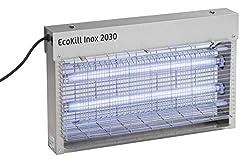 Kerbl 299931 Elektrischer Fliegenvernichter EcoKill INOX, 2030