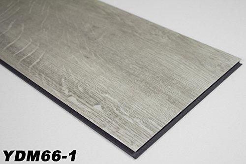 25,44 m² Vinylboden in 4,2mm Klick Kunststoffdielen Nutzschicht 0,3mm, YDM66-1