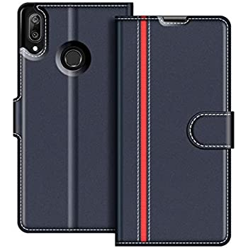 new product 647df 7b0c2 COODIO Huawei Y7 2019 Case, Huawei Y7 2019 Leather Case, Huawei Y7 2019  Wallet Case, Stylish Magnetic Closure Flip Folio Case Cover [Wallet Stand]  ...