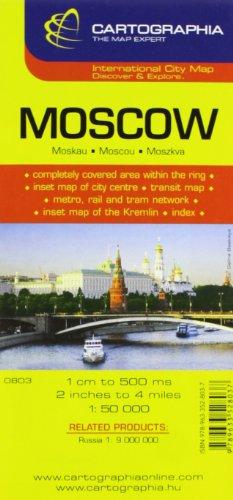 Plan Cartographia Moscou