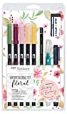 Tombow WCS-FL Watercoloring Set Floral