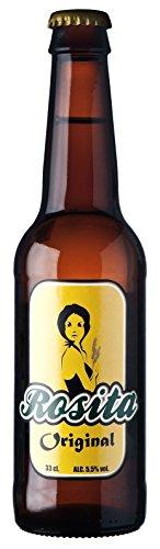 Rosita Pale Ale Cerveza - Paquete de 6 x 330 ml - Total: 1980 ml