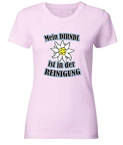 MEIN DIRNDL IST IN DER REINIGUNG - OKTOBERFEST - WOMEN T-SHIRT by Jayess Gr. XS bis XXL Rosa