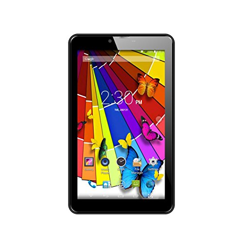 Lava Ivory Plus Tablet (7 Inch,16gb, Wi-fi+3g+voice Calling), Black