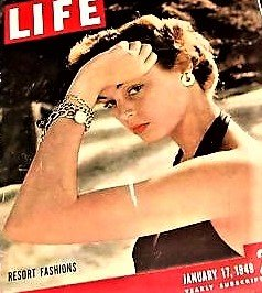 Life Magazine - January 17, 1949 -- Cover: Resort Fashions -