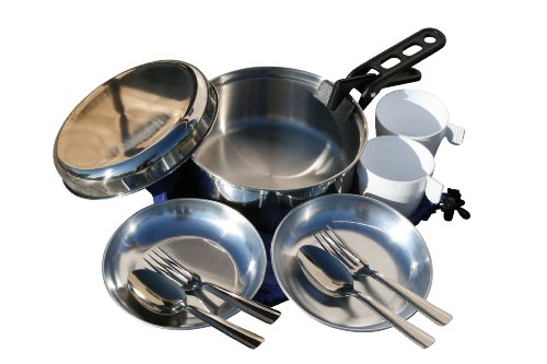Cao 974 - Set da cucina per il campeggio per 2 persone, 1.8 L