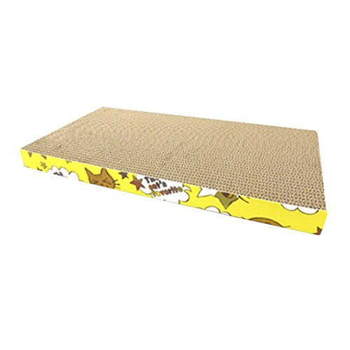 Alien Storehouse Tiere Lieblings Cat Scratcher Cardboard - Katzenkralle Care Toy Scratcher Bett Matte, 2 -