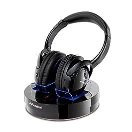 Meliconi HP 300 Professional – Cuffie Stereo Wireless con base di ricarica