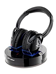 Meliconi HP 300 Professional Casque sans fil pour TV/Ordinateur/iPod/iPhone/iPad