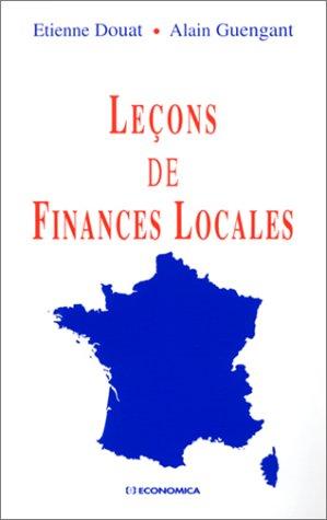 Leçons de Finances Locales