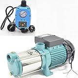 Kreiselpumpe Hauswasserwerk Gartenpumpe MHI 1300INOX Watt 6000 L/h m. Steuerung