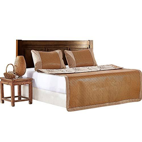 YONG FEI Rattan-Kühlmatte - Klimaanlage für den Hausgebrauch mit Klimaanlage, in DREI Größen erhältlich Sommer-Schlafmatte (größe : 120X195cm) - Ultimativen Komfort Matratze