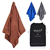 Mabel's® Dog Towel - Super Soft and Absorbent Towel for Dogs and Pets. Large Size, Fast Drying & Durable. Made With Love. The Cotswolds Collection: Broadway Brown