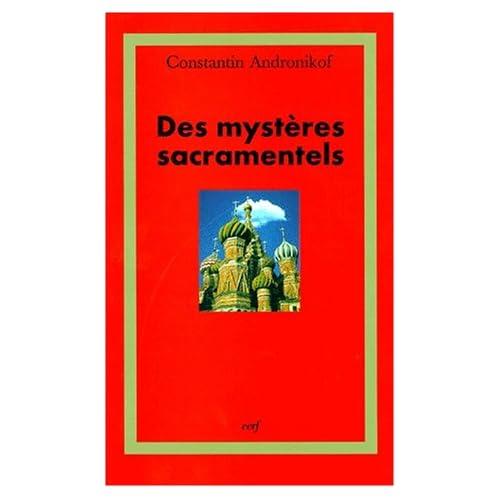Des mystères sacramentels