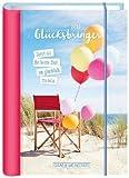 Glücksbringer Terminplaner - Jetzt ist die beste Zeit, um glücklich zu sein - Kalender 2019 - Kalenderbuch A6 - Grafik-Werkstatt-Verlag - Taschenkalender - 11 cm x 15,5 cm