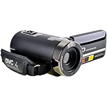 Stoga P301 HD 1080p IR Visión Videocámara Nocturna 24.0 Mega Píxeles Cámara Digital Mejorada 16x Zoom DV 2.7 TFT LCD HDV videocámara Rotación Pantalla Táctil Grabadora de Vídeo