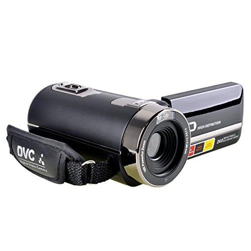 Stoga P301 HD 1080P IR di visione notturna 24.0 Mega pixel migliorato fotocamera digitale con zoom 16x DV 2.7 TFT LCD HDV video videocamera di rotazione Touchscreen Video Recorder