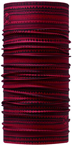 Buff Erwachsene Multifunktionstuch Original, Mehrfarbig (Rot/Schwarz), One Size, 107788.00