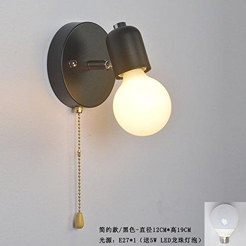 Nordic Spiegelleuchte rotierende Lampe Wohnzimmer Hintergrund Wand Lampe Badezimmer Badezimmer...