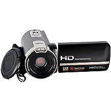 SEREE HDV-302S FHD 1080P 30FPSDigital videocámara de video visión nocturna de gran angular macro tiro Fisheye 24MP 3 pulgadas de pantalla táctil de la cámara