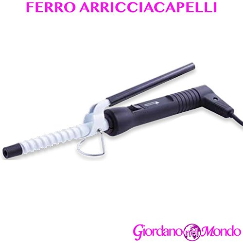 Ferro arricciacapelli a spirale in ceramica per capelli ricci professionale parrucchiere