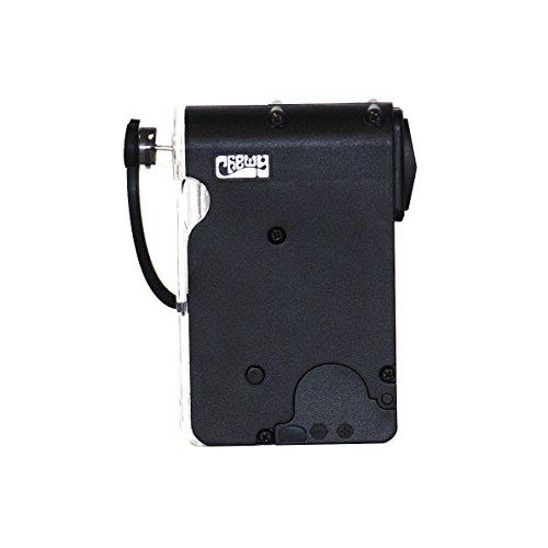 Grinder Trituratore elettrico portatile Chewy Black Widow (Nero)
