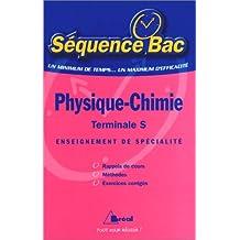 Physique-Chimie, terminale S, enseignement de spécialité