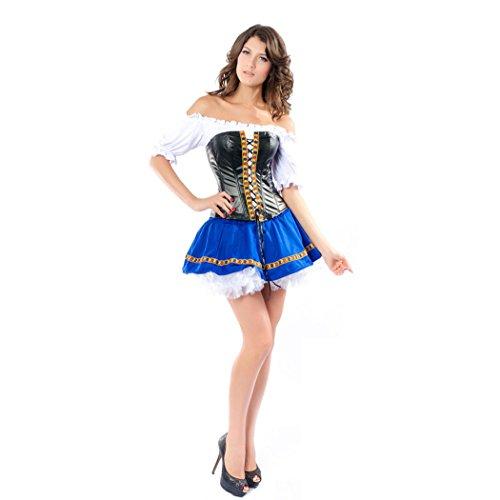 Sexy Captains Schatz Caribbean Pirate / Eye Candy / Abenteurer Halloween (Kostüm Frauen Abenteurer)