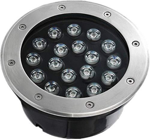 Luz de suelo al aire libre 24W LED Luces de vía horizontal...