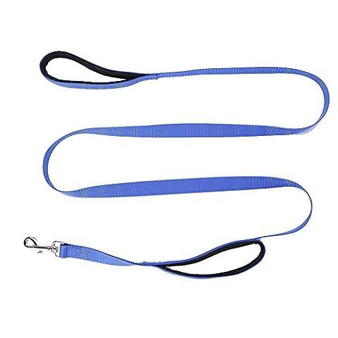 taonmeisutm Laisse en nylon pour chien avec double poignées double
