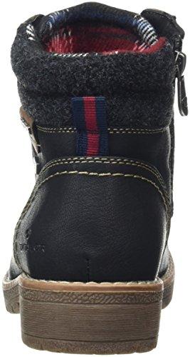 Tom Tailor 1692004, Bottines non doublées femme Noir (Black)