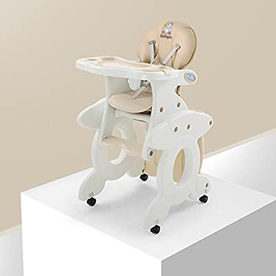 Brisk- Multifunction Baby Dining Chair Modular Children's Dining Chair Plastic Chair Dinette Seats (Color : Noble meters)