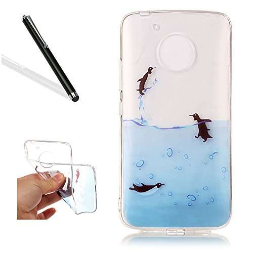 clear-case-for-motorola-moto-g5silicone-case-for-motorola-moto-g5leeook-creative-slim-fit-soft-flexi