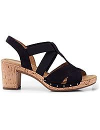Gabor Comfort Sport Sandalette in Übergrößen Blau 82.773.26 Große Damenschuhe