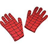 Fancy Steps Spiderman Gloves (Red, 2-8 Years)