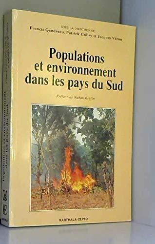 Populations et environnement dans les pays du Sud par Francis Gendreau