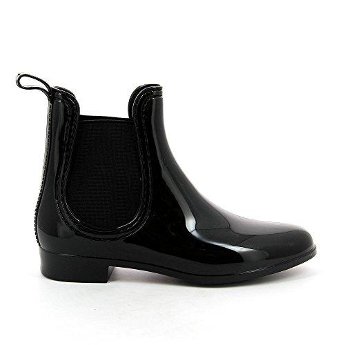 Shoes Bottine Noir pluie Chaussure SHERRY femme de Ideal qdtZPq