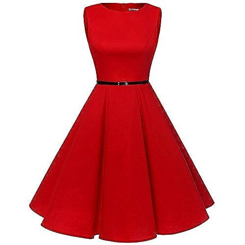 Sehr Elegante Rote Kleider: Amazon.de