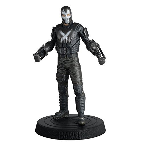 Eaglemoss FIGURA DE RESINA MARVEL MOVIE COLLECTION Nº 49 CROSSBONES (Capitán America)