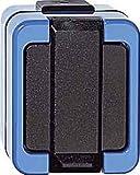 Merten 289378 Steckdose mit Schutzkontaktstift und erhöhtem Berührungsschutz, blau, SCHLAGFEST