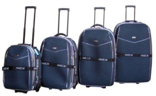 Trolley-Koffer-Set 4-teilig 90/80/70/60cm in 3 Farben