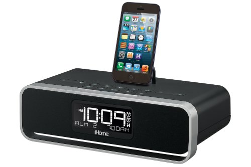 ihome adapter for iphone 6 ihome idl91 dual charging stereo fm clock radio with 1690