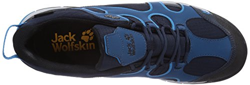 Jack Wolfskin CROSSWIND TEXAPORE O2+ M Herren Trekking- & Wanderhalbschuhe Blau (moroccan blue 1800)