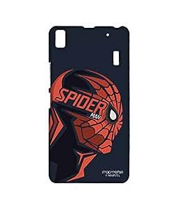 Licensed Marvel Comics Spiderman Premium Printed Back cover Case for Lenovo A7000