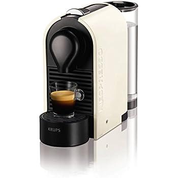 Nespresso Coffee Machine, Pure Cream by Krups
