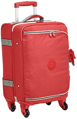 Kipling Cyrah S Equipaje de Mano, 55 cm, 37.5 litros, Rojo (Spicy Red Mix)