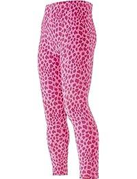 Playshoes Mädchen Legging Leggings Lang Leopardenmuster Rosa/Pink