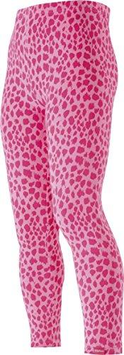 Playshoes Mädchen Legging mit Leopardenmuster, Oeko-Tex Standard 100, Gr. 86, Rosa (original 900)