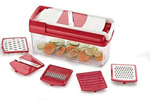 Shoppers Page Alice 12 Iin 1 Premium Super Dicer Vegetables And Fruits Slicer, Chipser, Grater, Cutter, Peelar And Chopper, 1 Piece